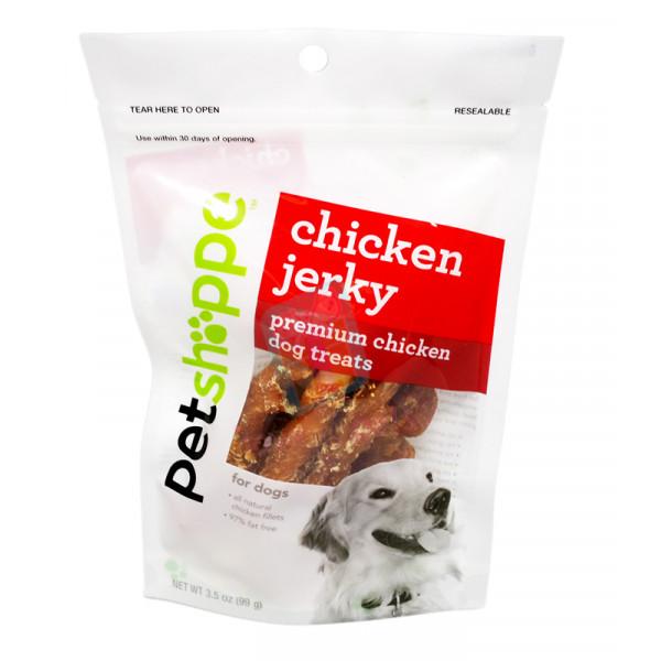 Petshoppe Chicken Jerky Rawhide Stick 6'...