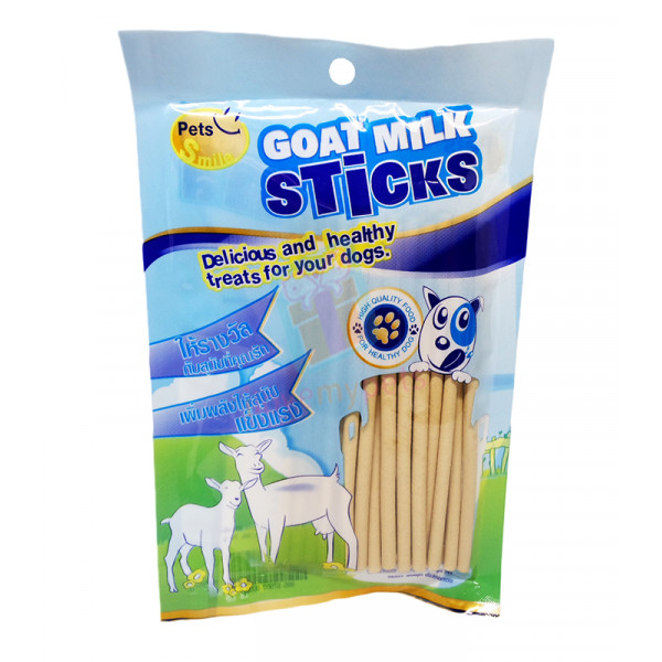 Petsmile Goat Milk Sticks 70 grams (Approx 20 Sticks)