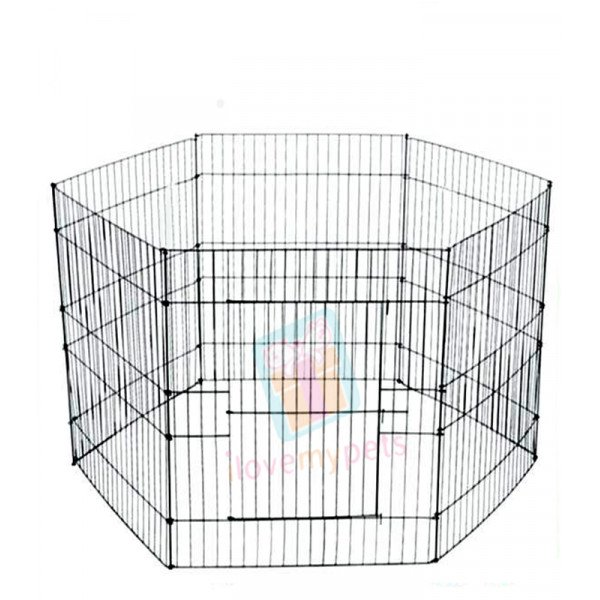 Happy Pets Exercise Pen, Medium, 6 Panel