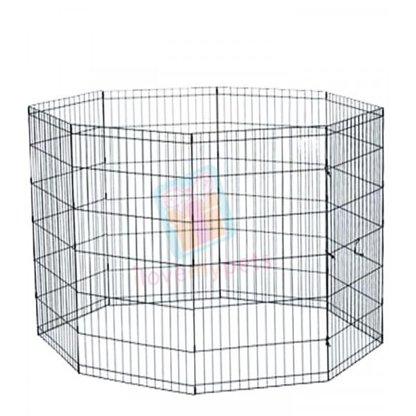 Happy Pets Exercise Pen, Medium, 8 Panel
