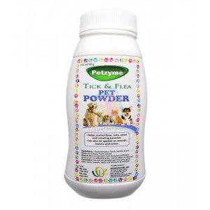 Petzyme Flea & Tick Powder w/ DE, 60...