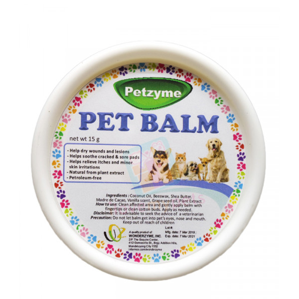 Petzyme Pet Balm 15 grams