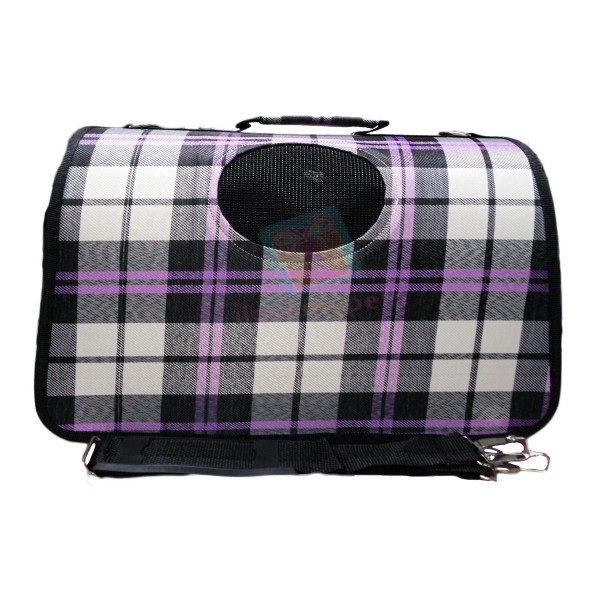 Classic Durable Pet Carrier W/ Shoulder ...