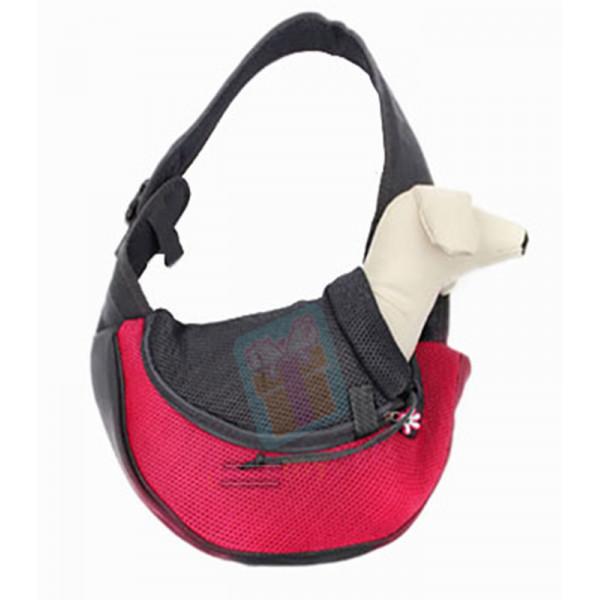 Pet carrier bag, portable travel sling s...