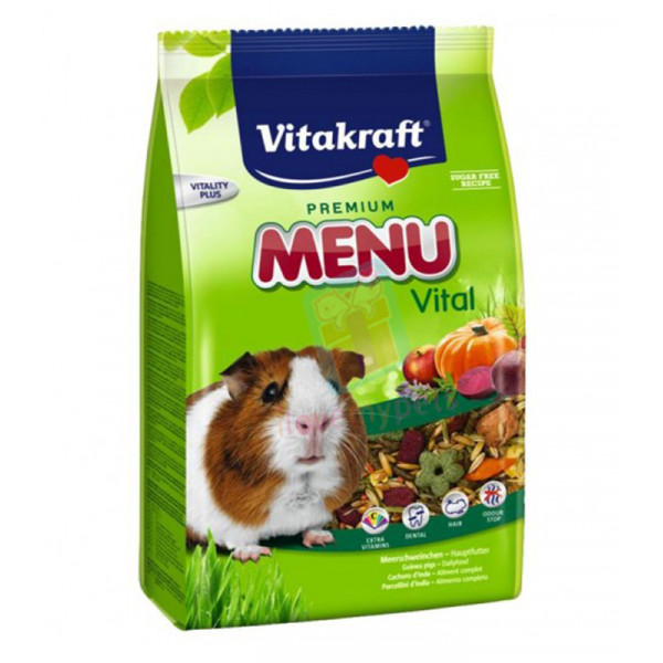 Vitakraft Menu Guinea Pig Food, 1kg