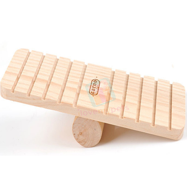 Carno Wooden Seesaw