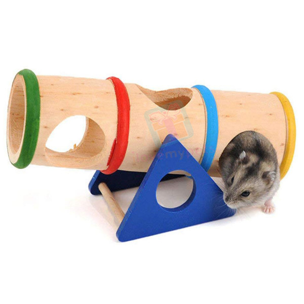 Carno Wooden Barrel Round Seesaw