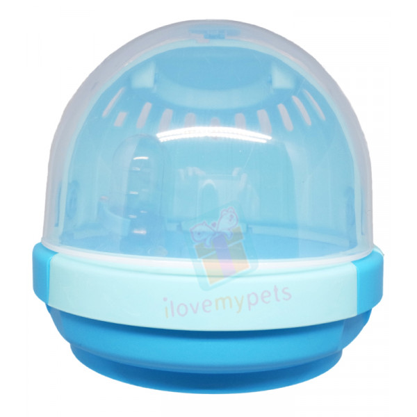 Carno UFO Hamster Small Pet Carrier w/ W...