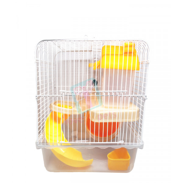 Happy Pets  Robo Hamster Cage, 2 Layers