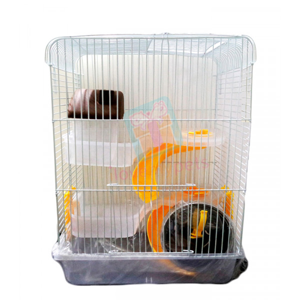 Happy Pets  Robo Hamster Cage, 3 Layers