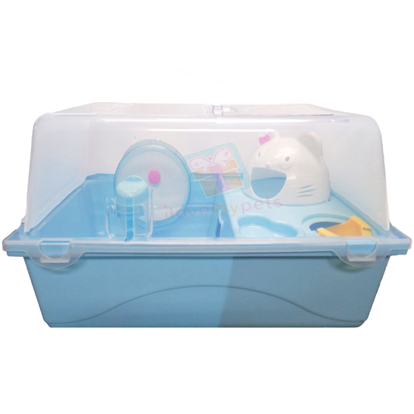 Happy Pets Medium Hamster Cage (Bin Type...