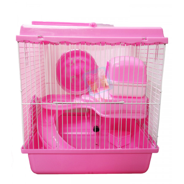 Happy Pets Hamster Habitat Transparent T...