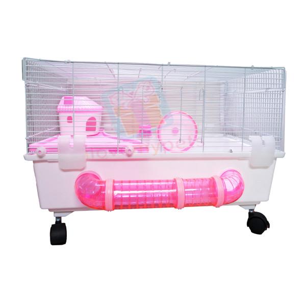 Happy Pets Big Hamster House w/ Tubing a...
