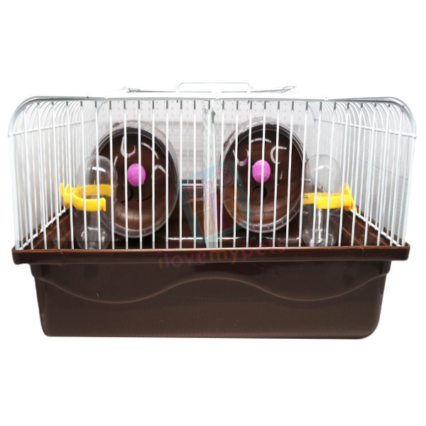 Happy Pets  Hamster Cage W/ Divider, Med...
