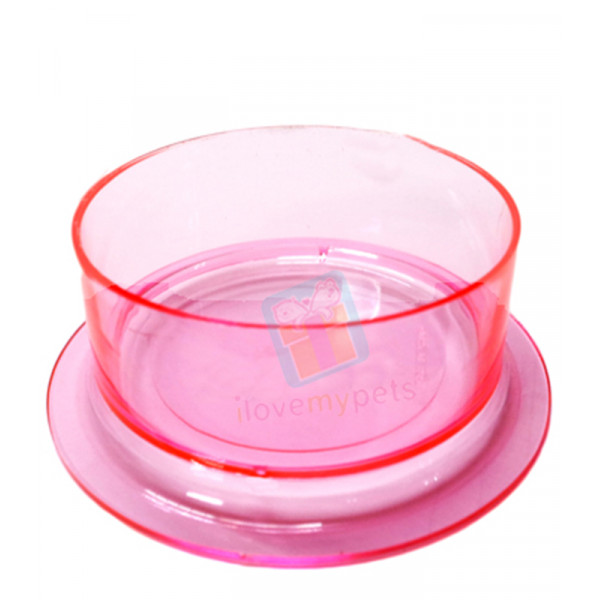 "Crystal Food Dish, Small 3"" Diamete..."