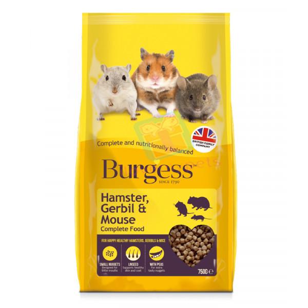 Burgess Hamster, Gerbil & Mouse Food...