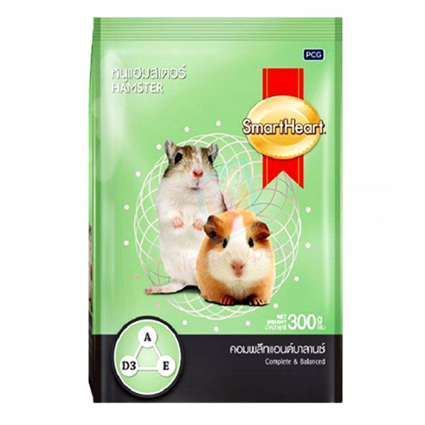 Smart Heart Hamster Food, 300 grams