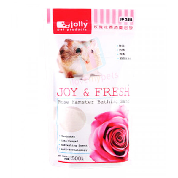Jolly Hamster Bathing Sand Rose 500g