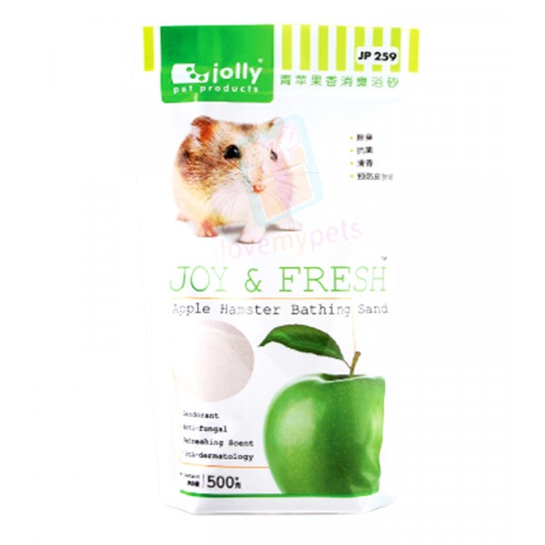 Jolly Hamster Bathing Sand Apple 500g