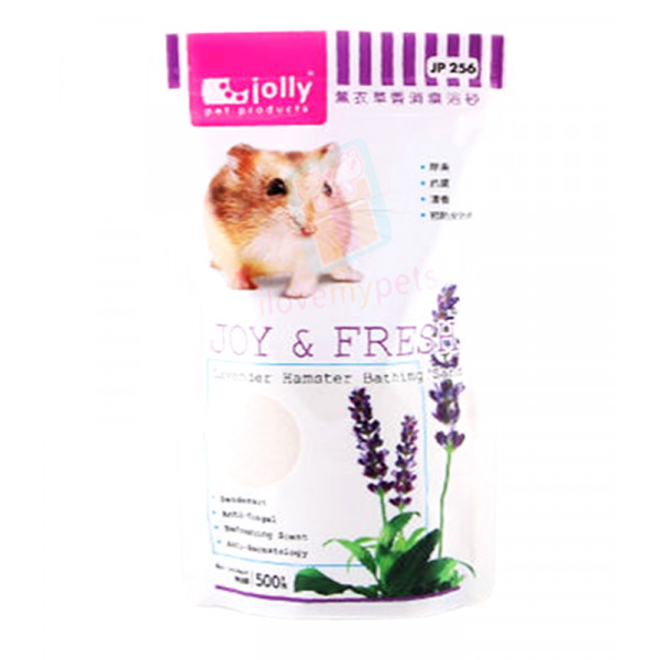 Jolly Hamster Bathing Sand Lavander 500g