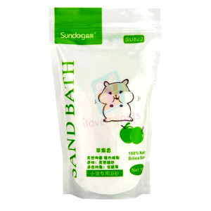 Sundog Hamster Bathing Sand 1kg (Apple)...