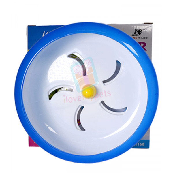 Kerry Hamster Silent Wheel 17.5 cm (Blue...