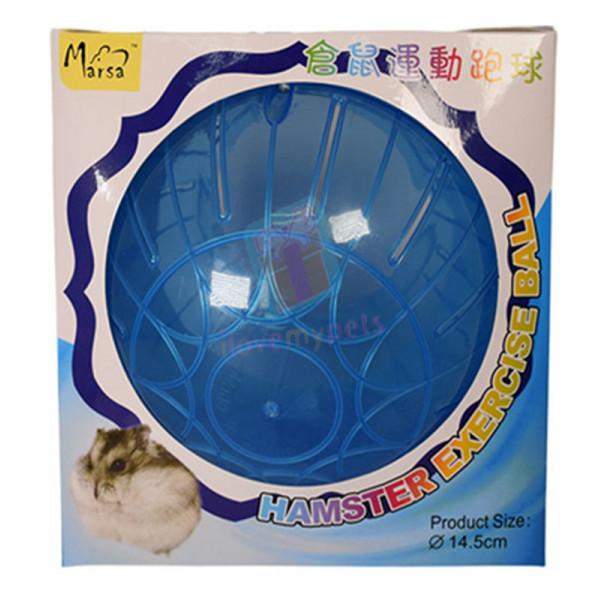 Marsa Hamster Ball 14.5 cm (Blue)