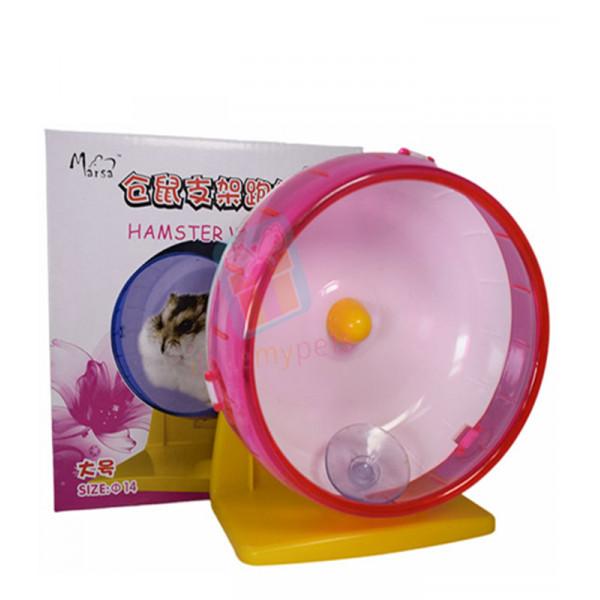 Marsa Silent Wheel w/ Stand 14 cm (Pink)