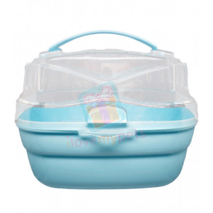 Carno Small Animal Carrier, Blue...