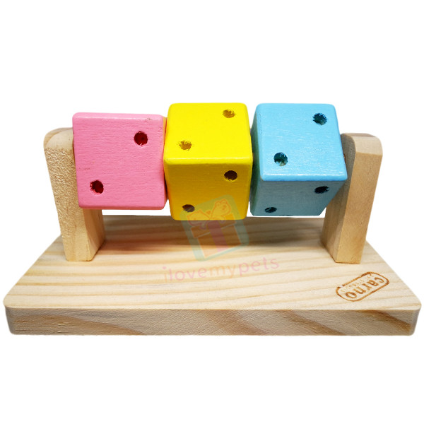 Carno Wooden Chews Dice
