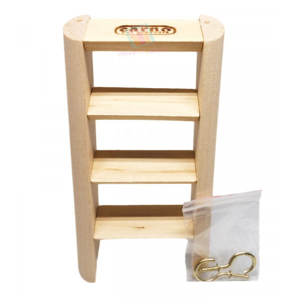 Carno Wooden Ladder Stand