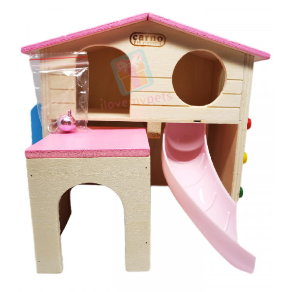 Carno Hamster Playhouse W/ ramp, slide, ...