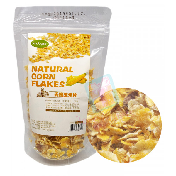 Sundog Natural Corn Flakes, 100 grams