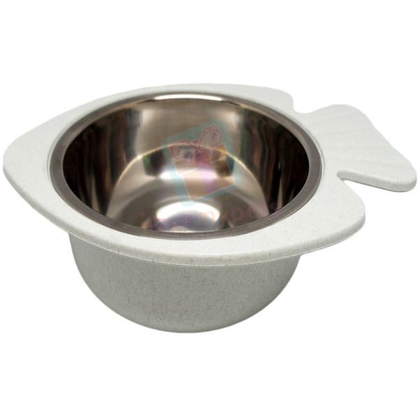 Carno Fish Shaped Bowl for Water/Food