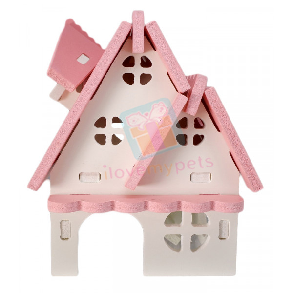 Happy Pets Colorful Holiday Villa Wooden...
