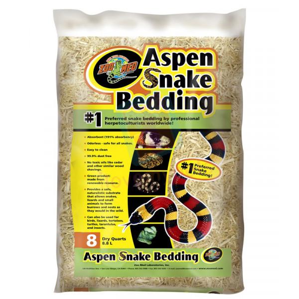 Zoomed Aspen Snake Bedding B SB8 = 8QT