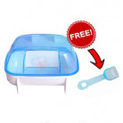 Carno Hamster Bathroom Large with Free Scooper