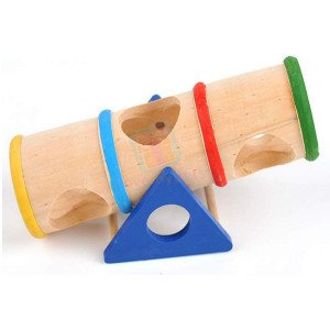 Carno Wooden Barrel Round Seesaw...