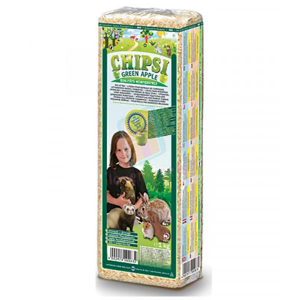 Chipsi Organic bedding 1 kg. Apple