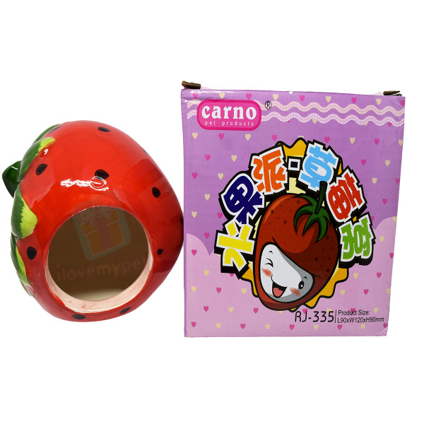 Carno Strawberry Ceramic House