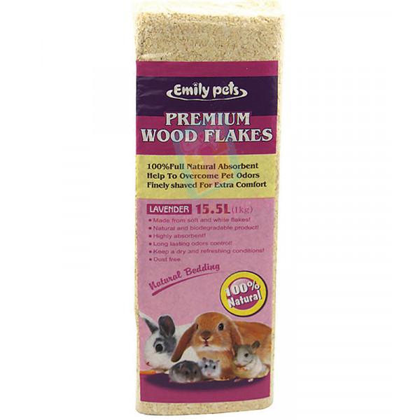 Emily pets premium wood flakes - Lavande...