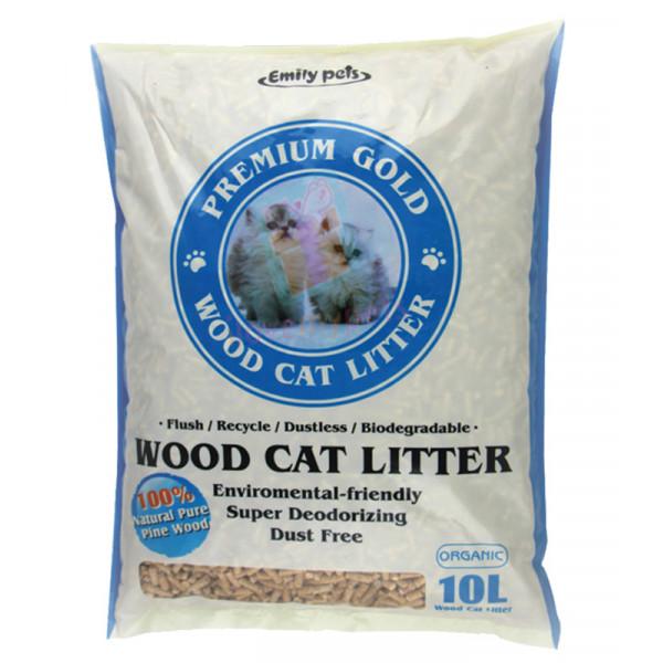 Emily pets wood cat litter 10L