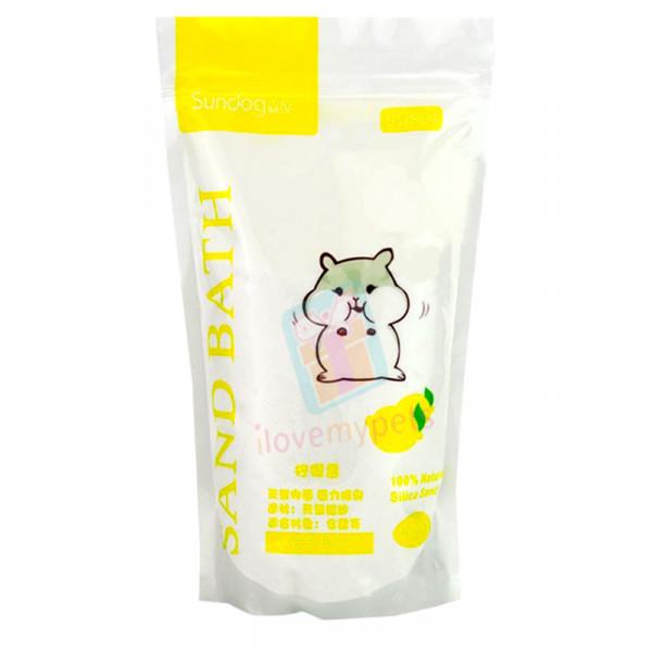 Sundog Hamster Bathing Sand 1 kg (Lemon)