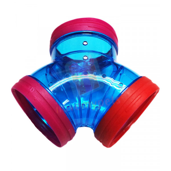Hamster House Tubing Pipe Y-Shape (1 pc.)