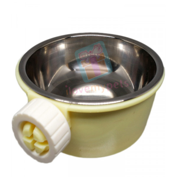Carno Hanging Food Dish w/ Removable Bow...