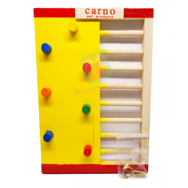 Carno Twin Wooden Activity Ladder