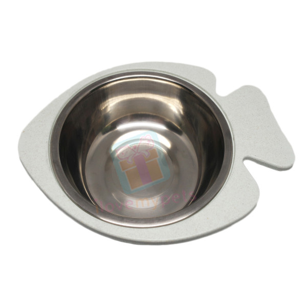 Carno Cat Dish ( For  Water/Food ,Stainl...