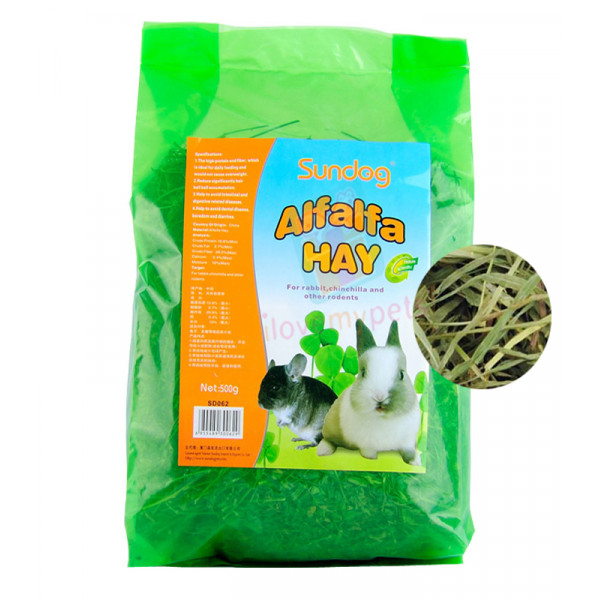 Sundog Natural Alfalfa Hay 500 grams