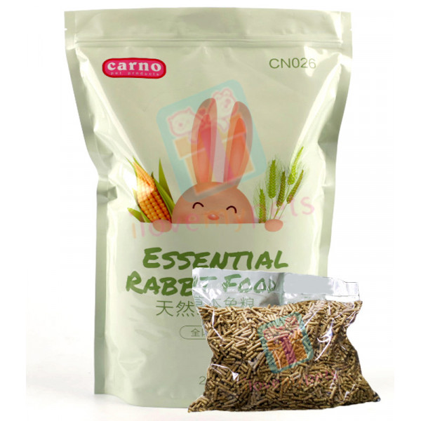 Carno Rabbit Food, 500 grams (Trial Pack...