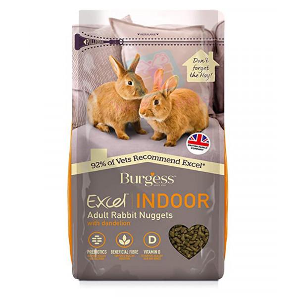 Burgess Excel Indoor Rabbit Nuggets 1.5k...